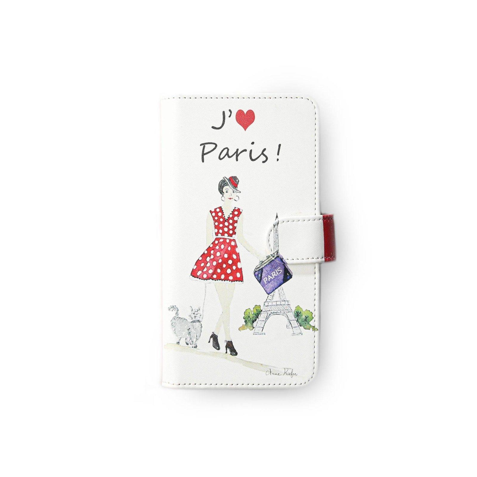 パリジェンヌ iPhoneケース