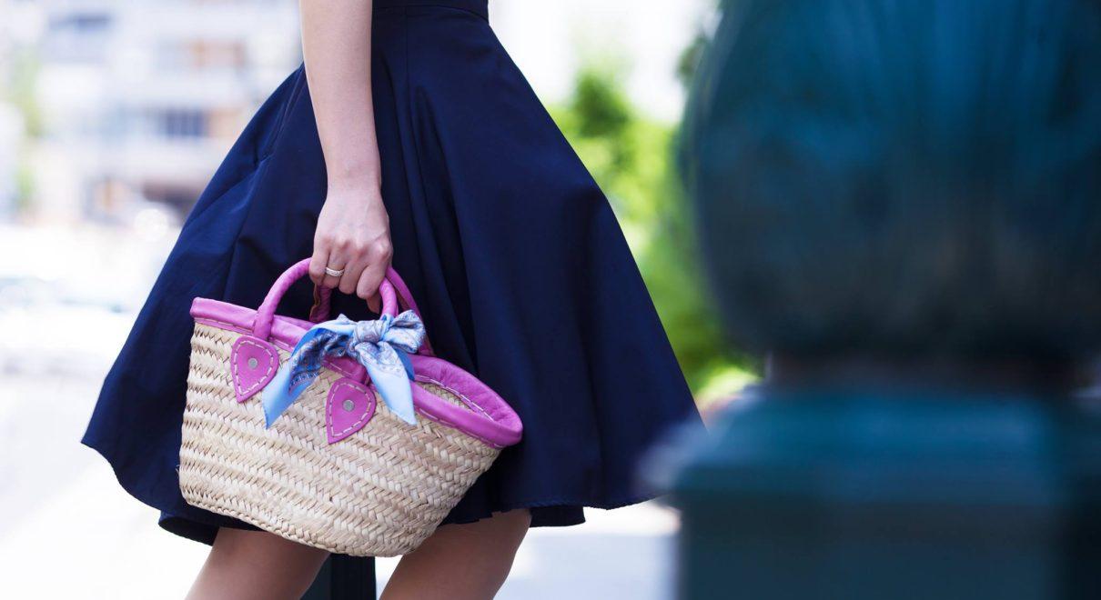 夏のオシャレカゴバッグ、マルシェパニエはいかがですか?