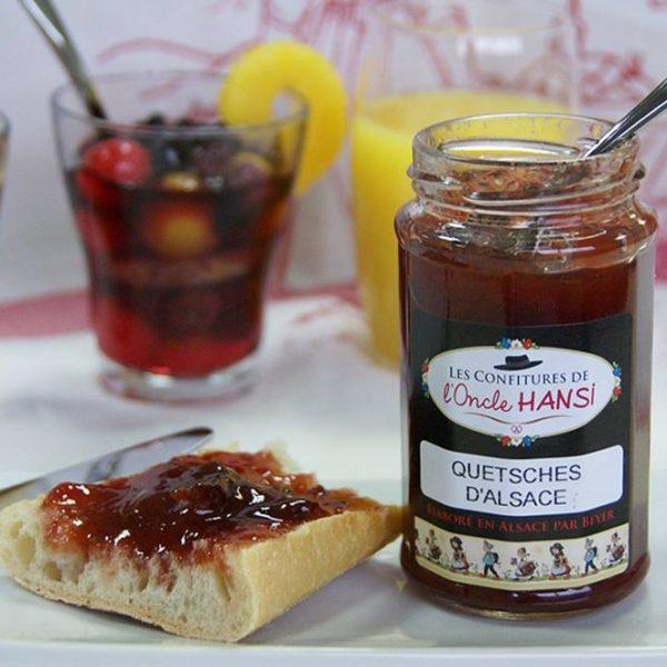 アルザスで作られるフルーツの甘さが美味しいコンフィチュールが人気!