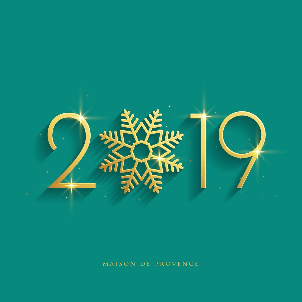 Happy New Year 2019! 1月2日より営業します